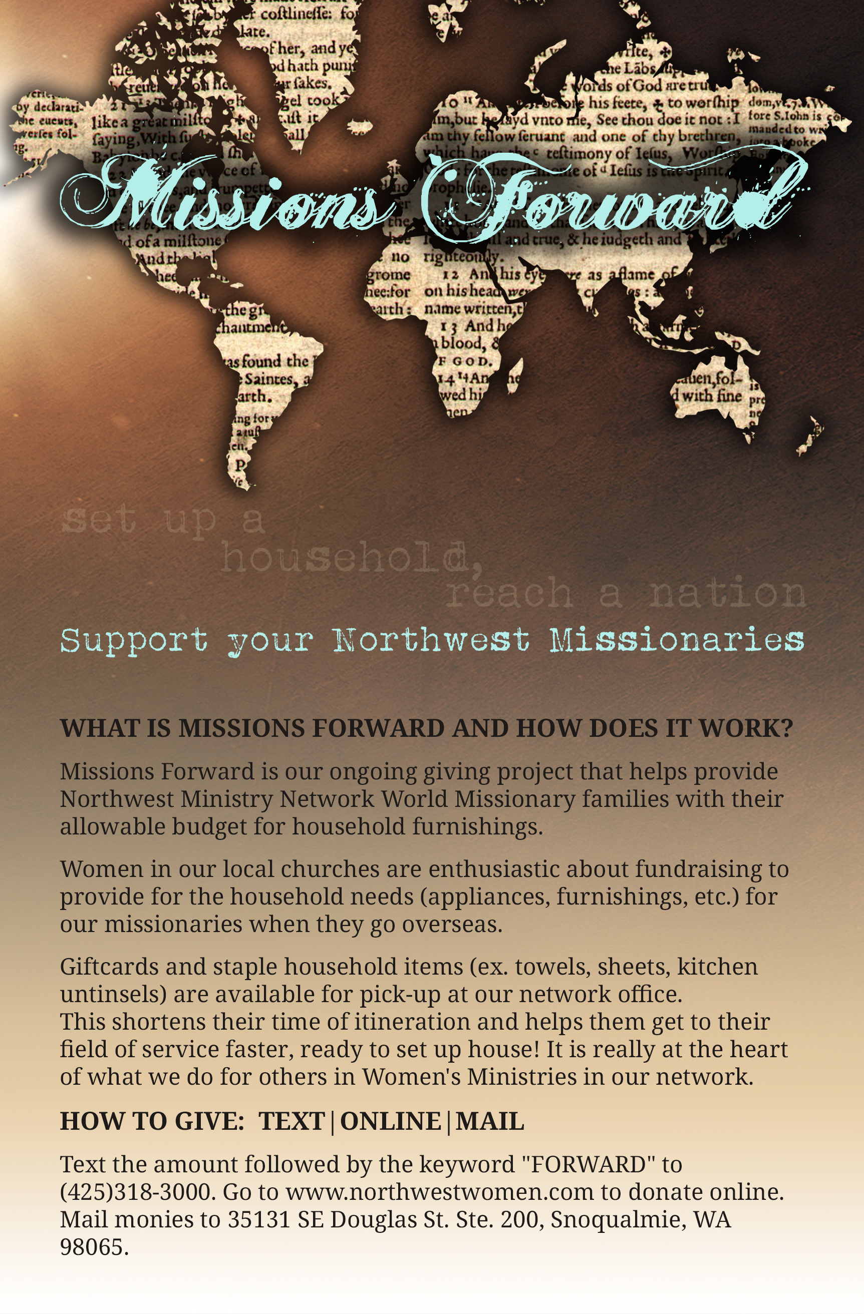 Mission Forward Flyer