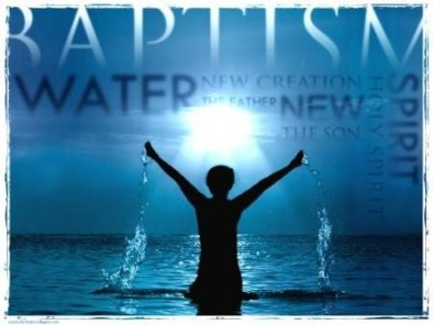 Our Belief About Water Baptism