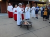 Blessing the New Fire Easter Vigil 2019