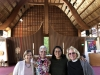 Colleen Henry, The Rev. Kathy Trapani, Shannon Eng, and The Rev Barb Dawson