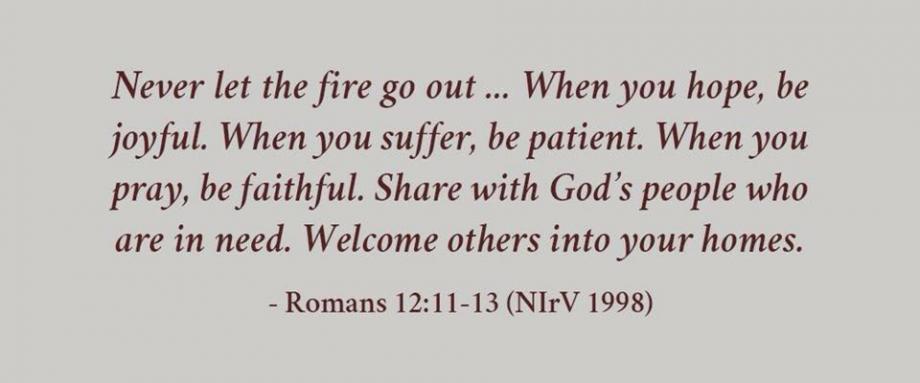 Romans 12:11-13
