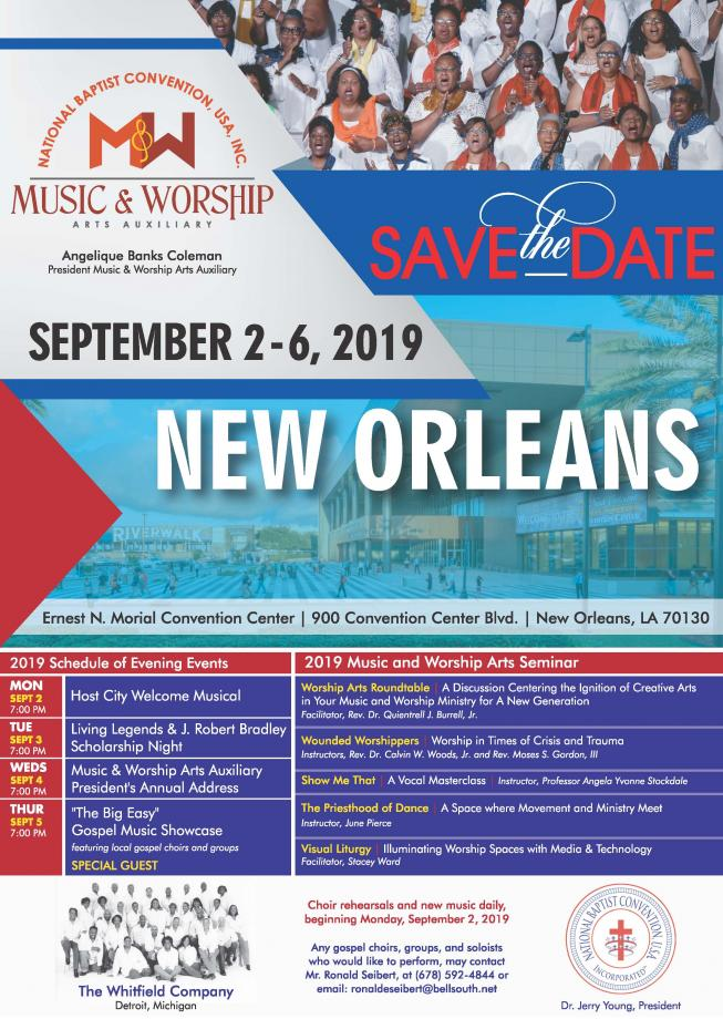 National Baptist Convention - Envisioning the Future Exceptionally