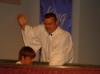 Christopher King's Baptism