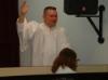 Katie Cleland's Baptism