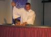 David Clayton's Baptism
