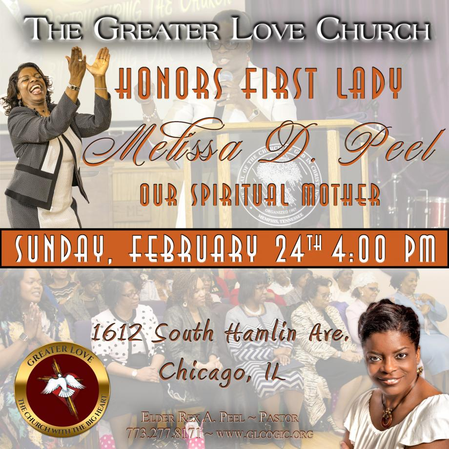 The Greater Love COGIC - Events