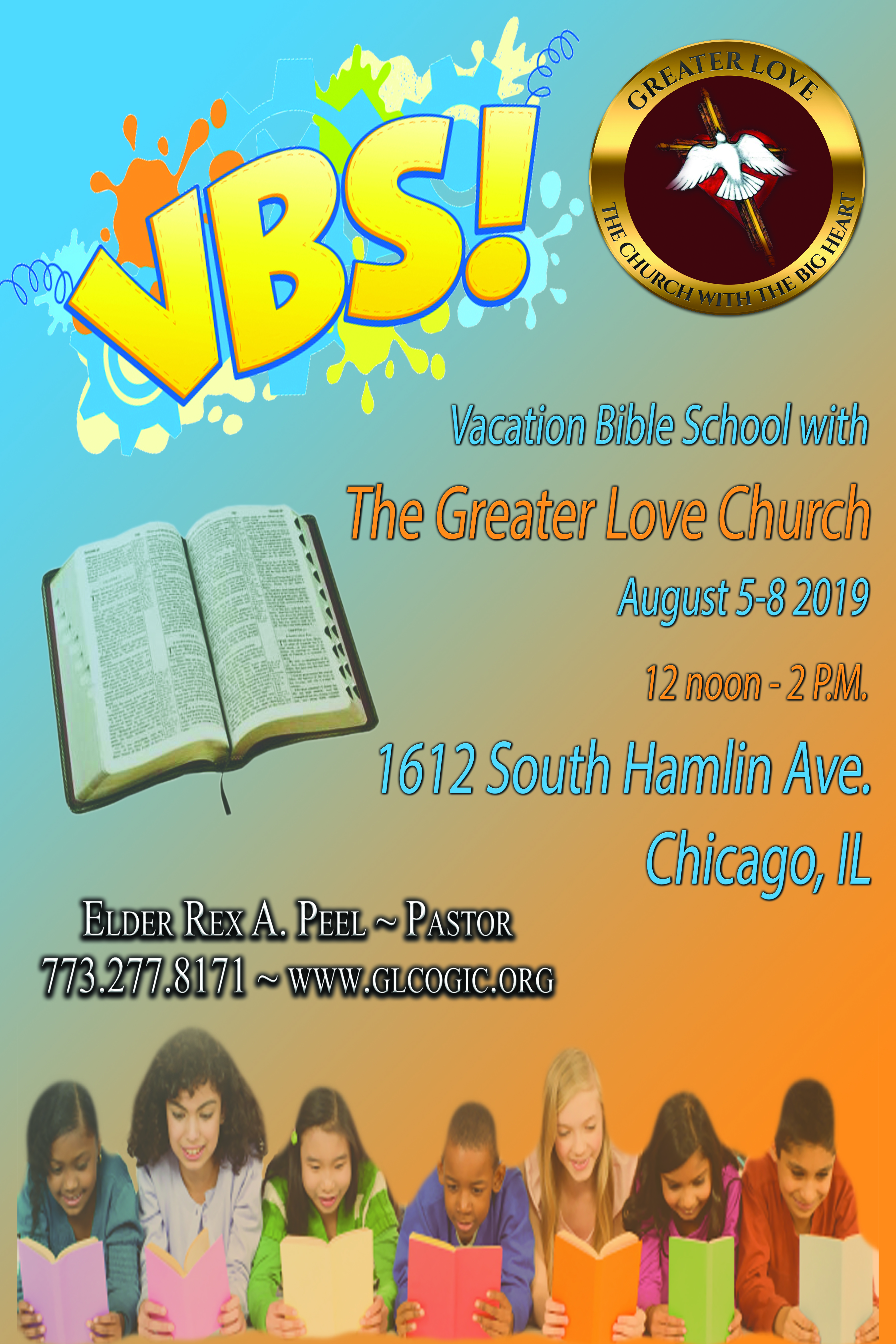 The Greater Love COGIC - The Church with the Big Heart - Home