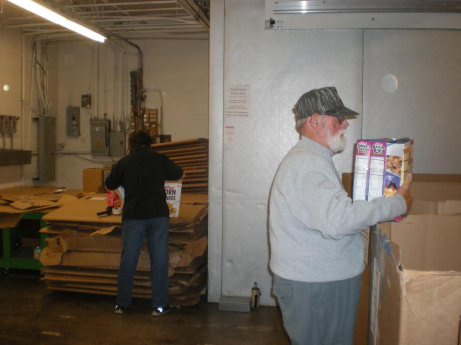 Bill sorting food items