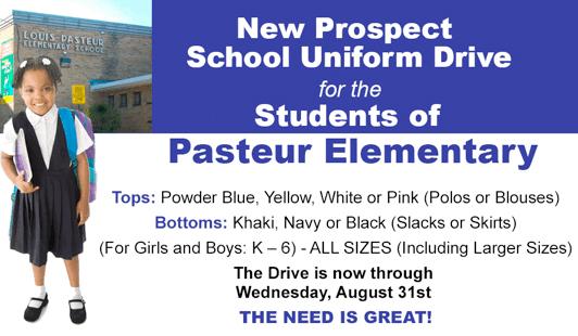 Pasteur Uniform Drive