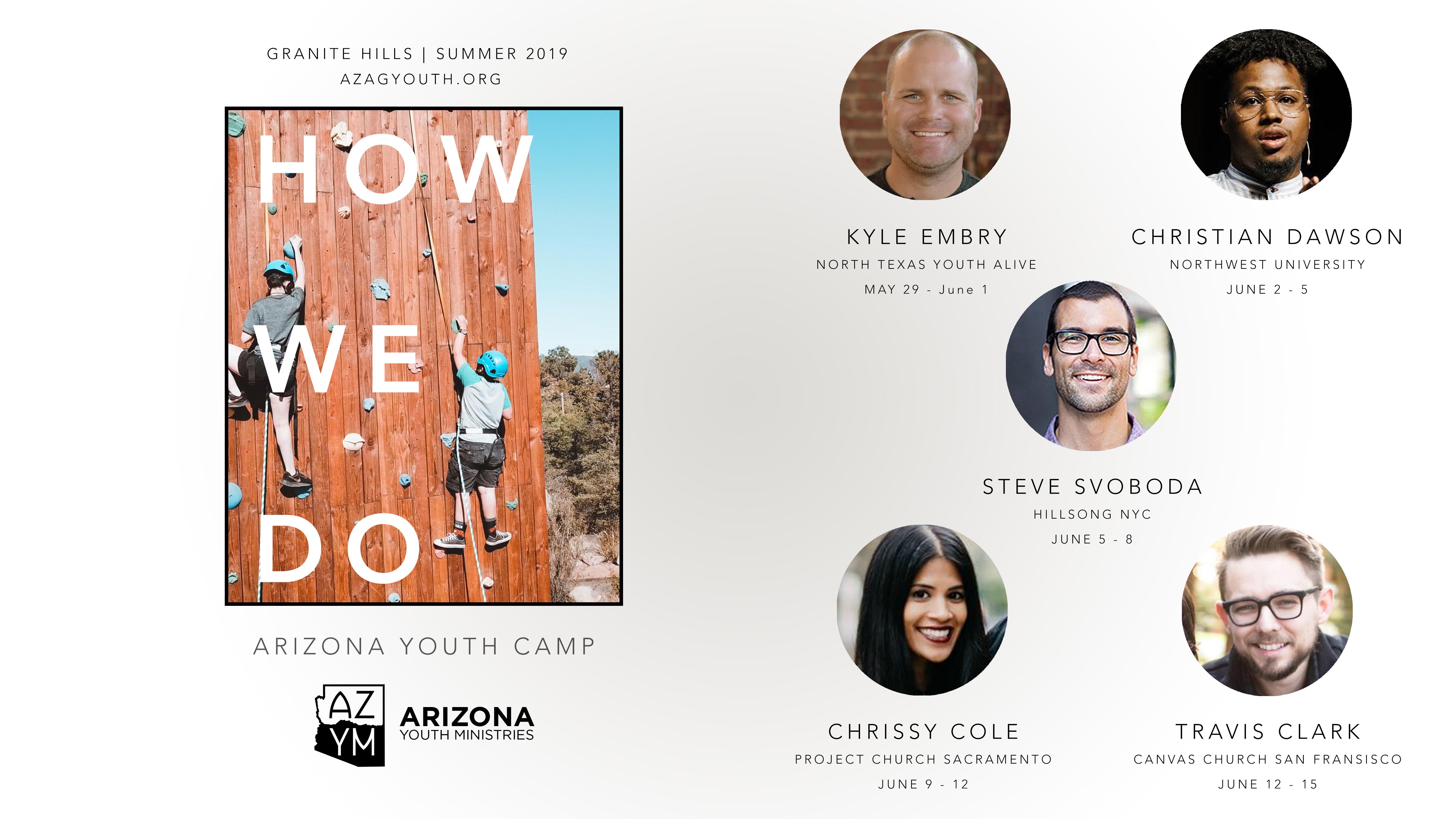 Teen camp ministry survesy