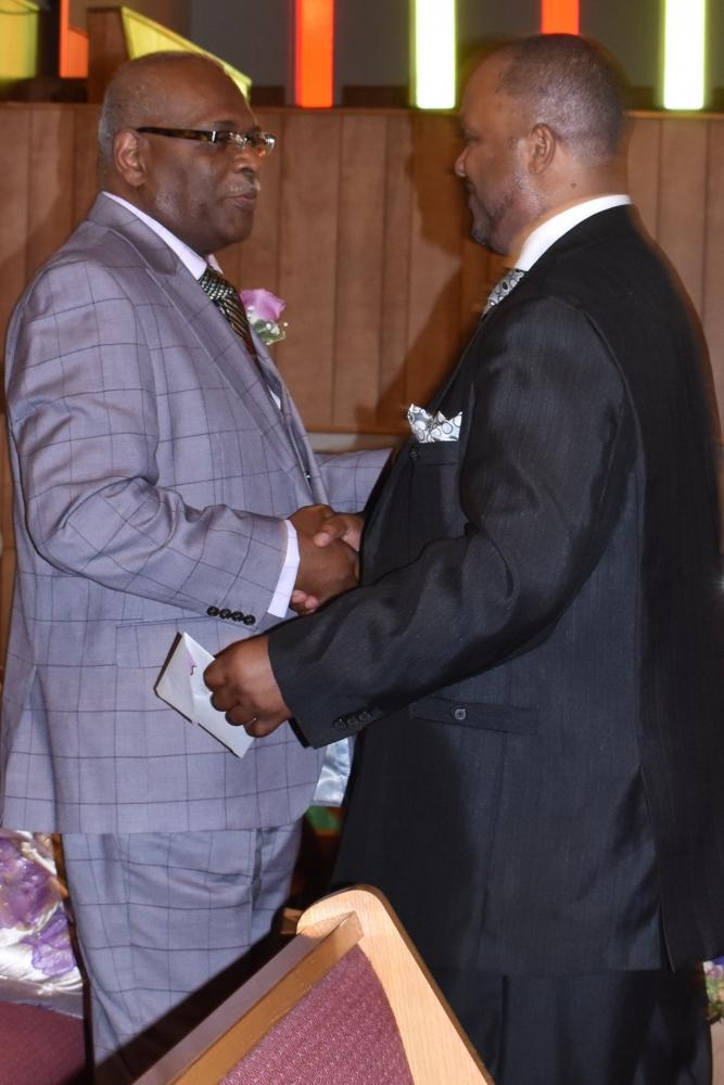 Calvary Missionary Baptist Church - Pastor & Wife 11th Year