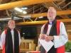 Bishop Mark and Arch Bishop Foley