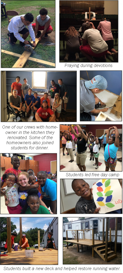 Pictures from 2016 Missions Trip
