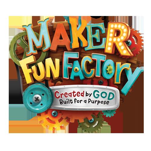 Maker Fun Factory VBS logo