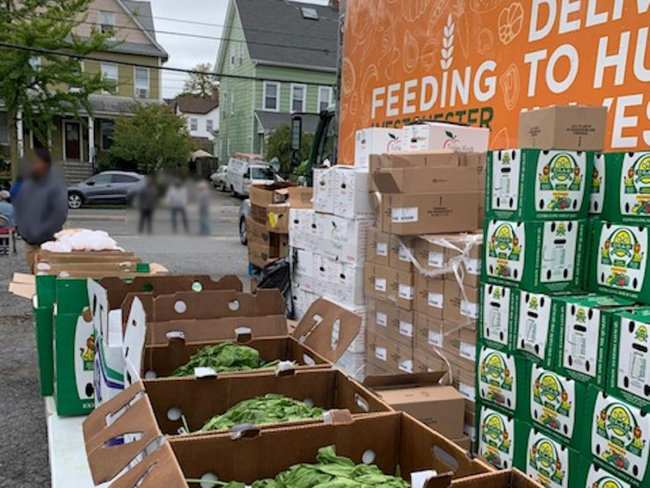 Mobile Truck Food Distribution