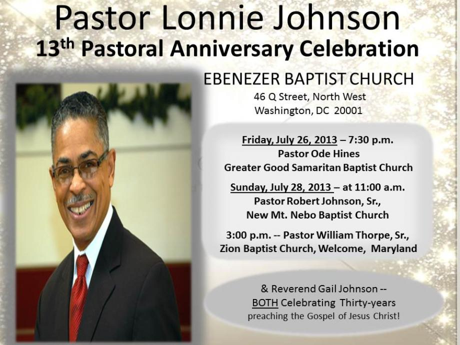 Related Pictures pastor anniversary program