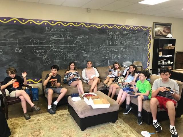 Middle School Sunday School Class