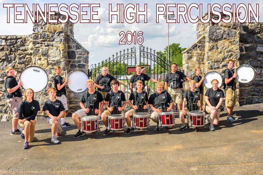 The THS Mighty Viking Band Drum Line Performs At All Football Games Competitions And Parades With Marching
