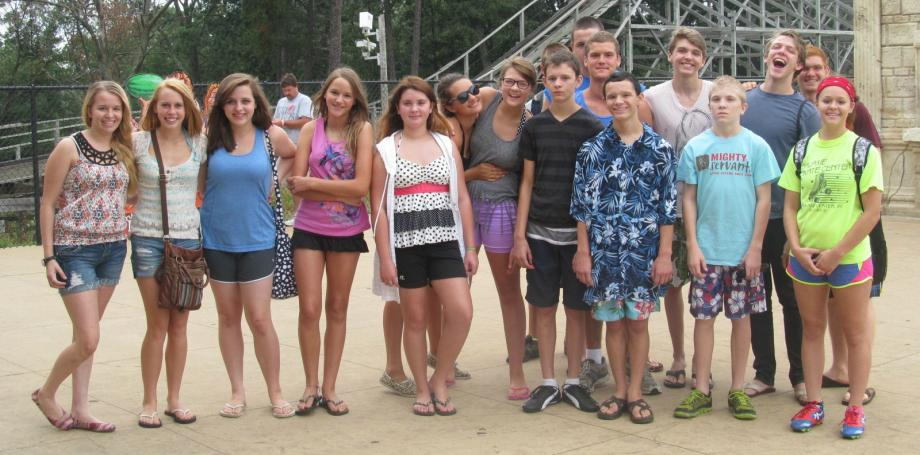 Youth Group Mount. Olympis Trip 2013