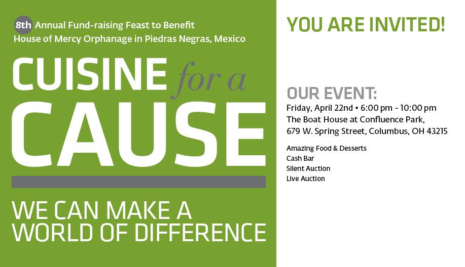 King avenue united methodist church cuisine for a cause 2016 for Cuisine for a cause