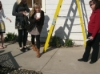 Teens preparing eggs for Egg Drop Contest