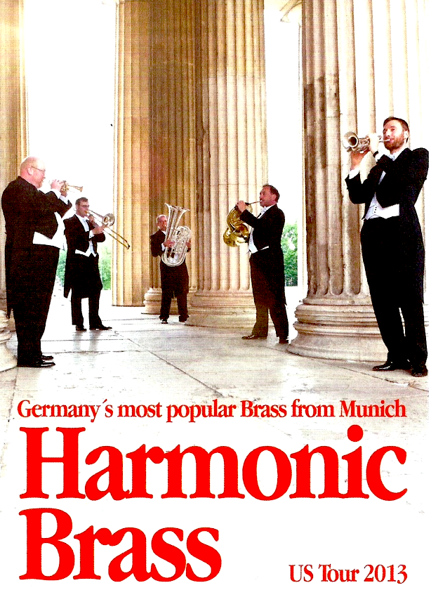 Harmonic Brass from Germany to perform at Crescent Avenue Presbyterian Churhc