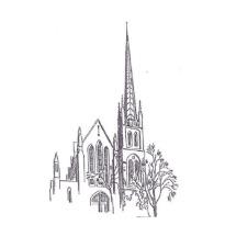 Crescent Avenue Presbyterian Church illustration Plainfield New Jersey