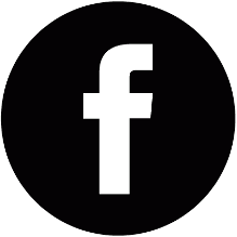 Image result for facebook circle icon black