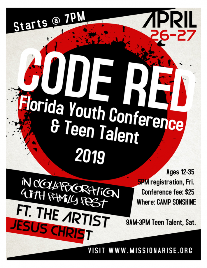 Youth Conference - CoGoP Florida State Office