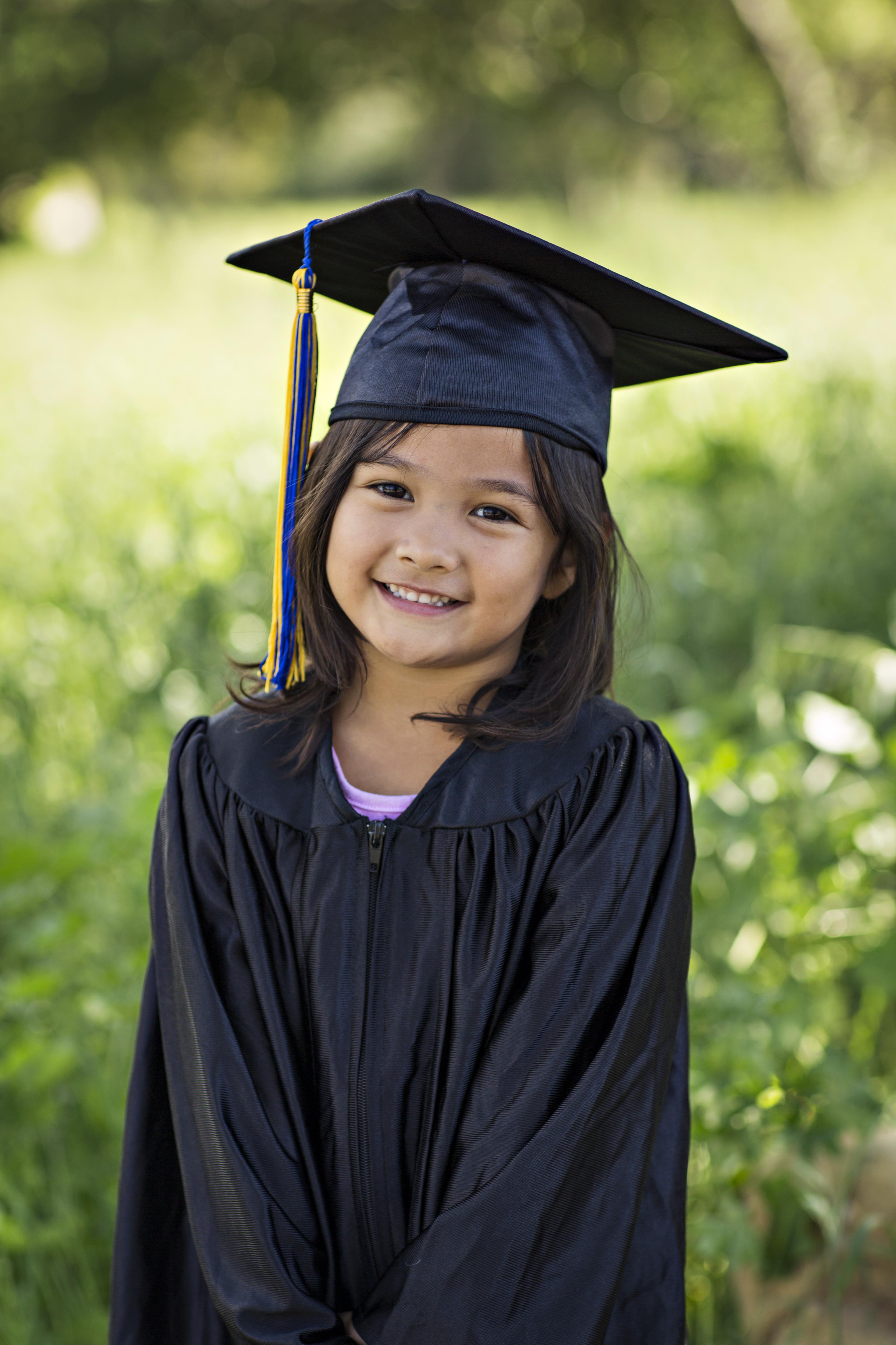 Graduating with Honors from Hope 4 Kids Preschool, www.hope4kidspreschool.org
