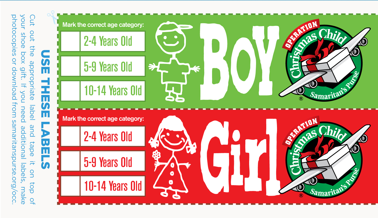OCC Boy Girl Label