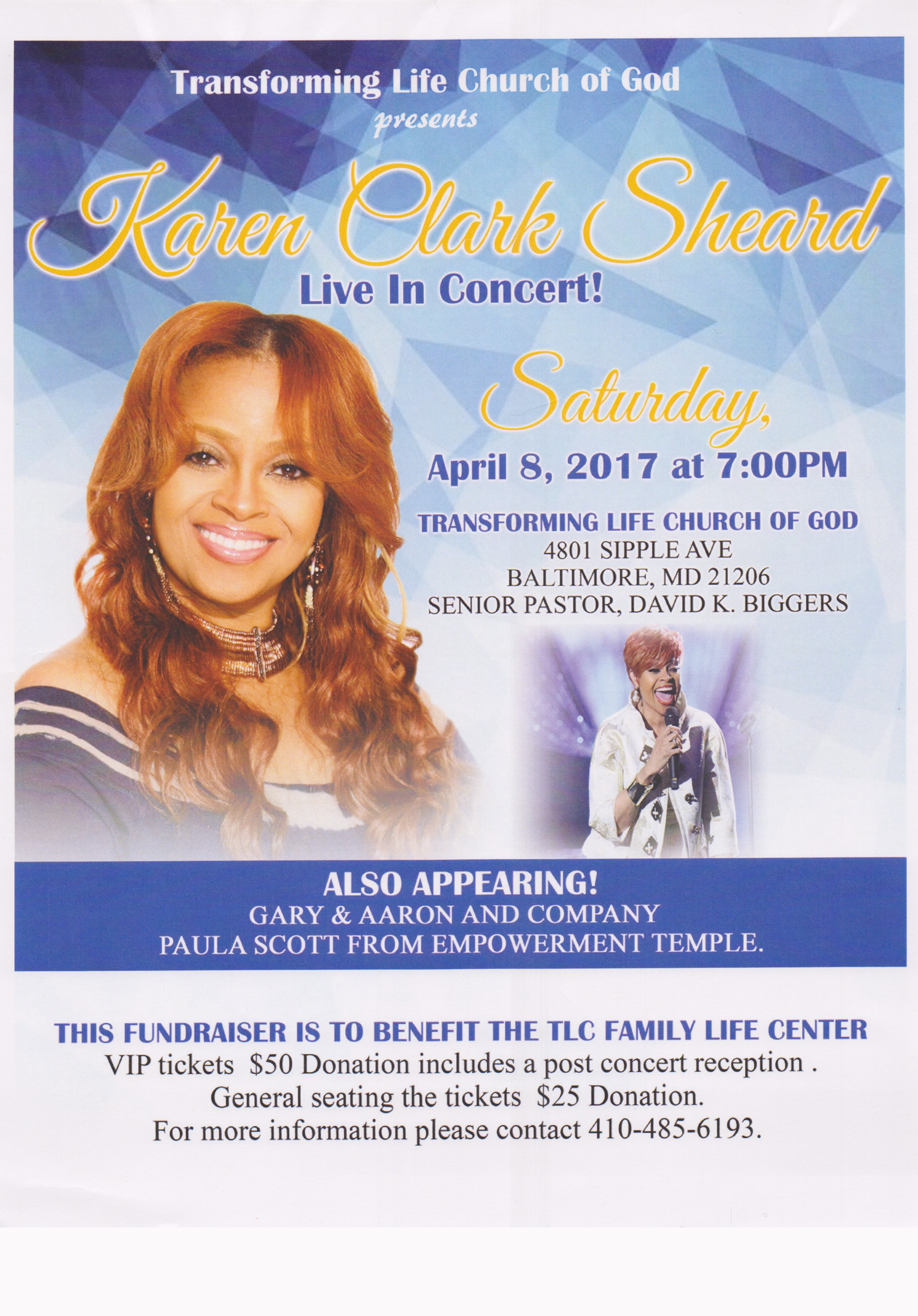 Karen Clark Sheard Concert