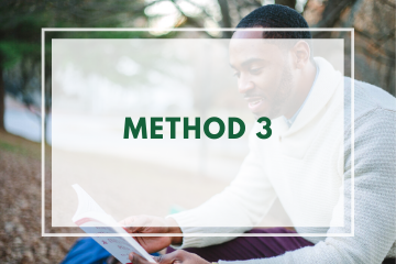 Method 3: Giving In-Person