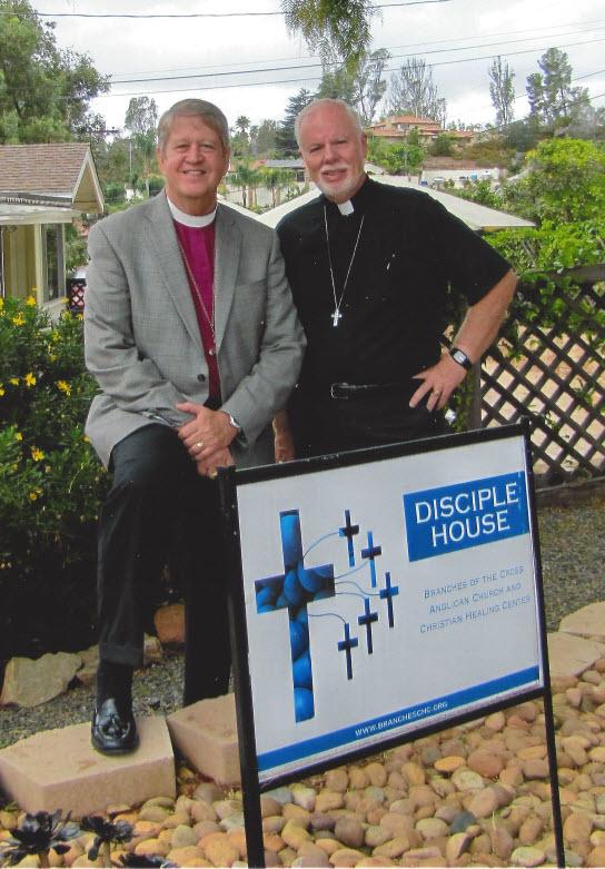 Bp. Keith and Fr. Tim