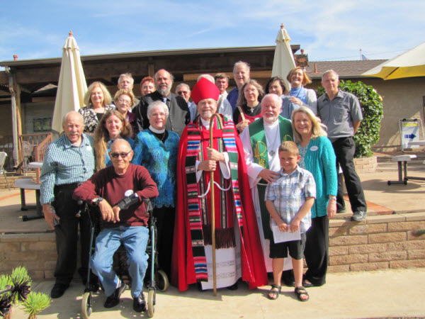 Bp. Lyons and Congregation