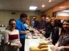 Youth Assemble Super Bowl Sub Sandwiches