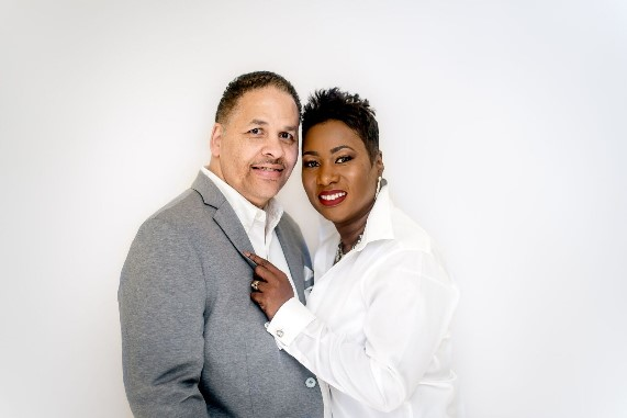 Pastor Dr. T. Scott Swan, I and Desiree Swan