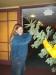 Charlie & Roseanne Short donating Christmas Tree for Narthex.
