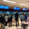 Watching bowling