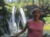 Maggie Huntley at Burney Falls