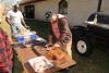 Preparing the barbeque ribs, YUMMMM