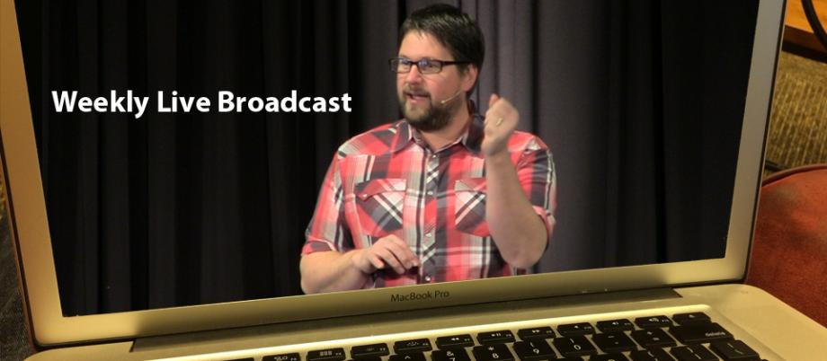 CHeck out our live broadcast at Neighborhood Church