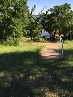 Strolling around the lake